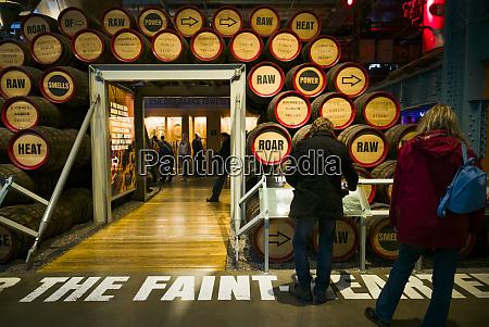 ireland dublin guinness storehouse brewery museum
