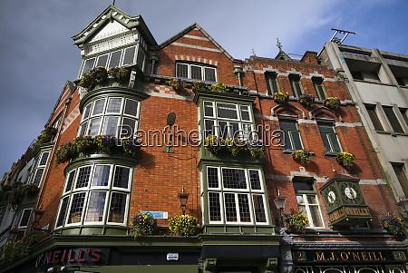 ireland dublin oneills historic irish pub