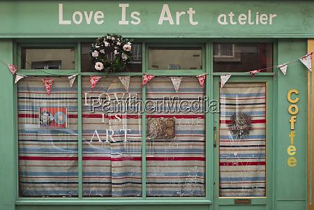 ireland dublin love is art coffee