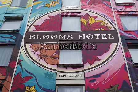 ireland dublin temple bar blooms hotel