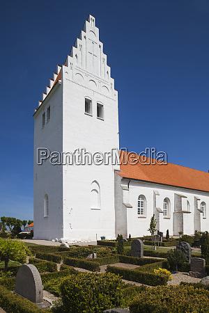 daenemark mon fanefjord fanefjord kirke kirche