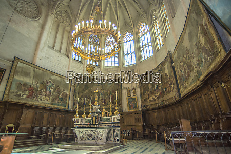 cathedral of st vincent viviers france