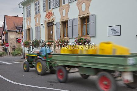 european union france alsace eguisheim village