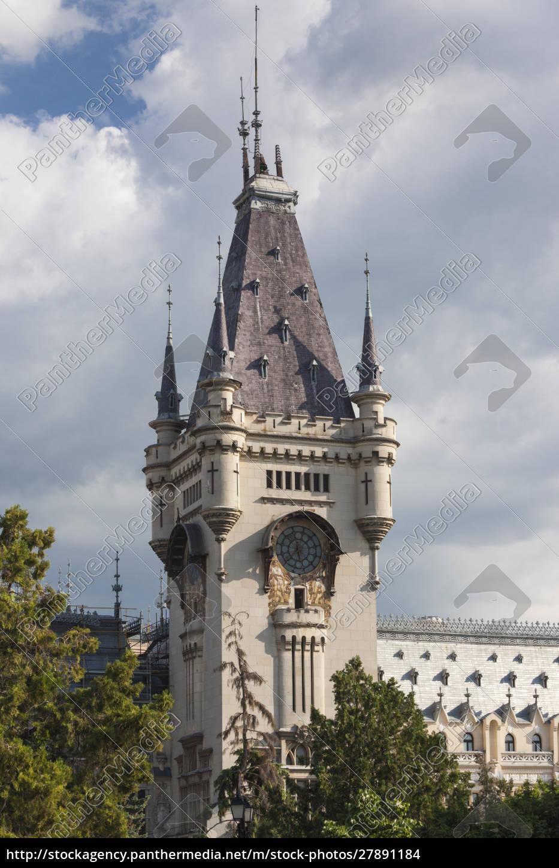 rumänien, moldawien, iasi, kulturpalast, tagsüber - 27891184