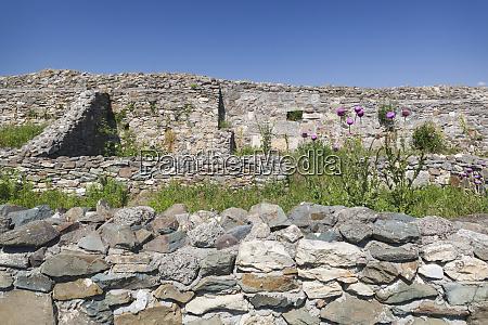 romania black sea coast histria ruins
