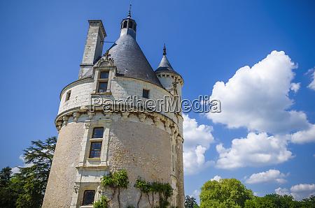 the marques tower chateau de chenonceau