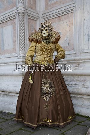 venedig zur karnevalszeit italien