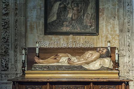 europe spain salamanca sculpture of christ