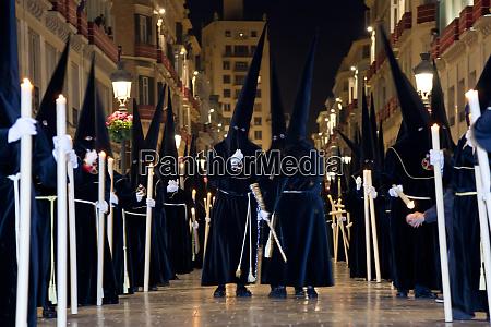 semana santa fiesta easter malaga andalucia