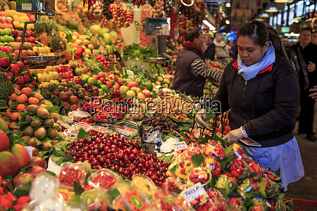 various fruit and vegetables for sale