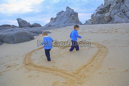 family at pedregal beach cabo san