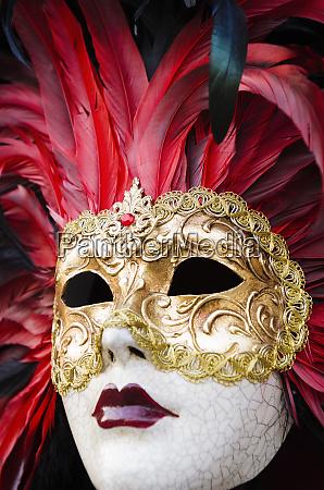 karnevalsmaske venedig venetien italien