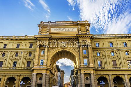 arcone triumphal arch piazza della repubblica