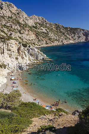 vroulidia beach chios island greece