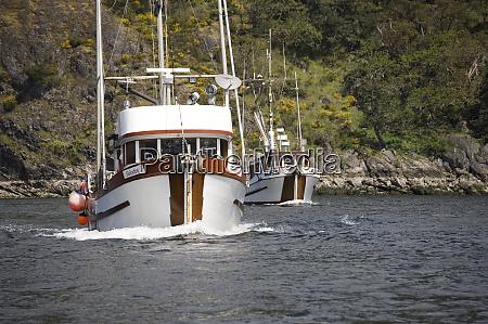canada british columbia vancouver fishing boats