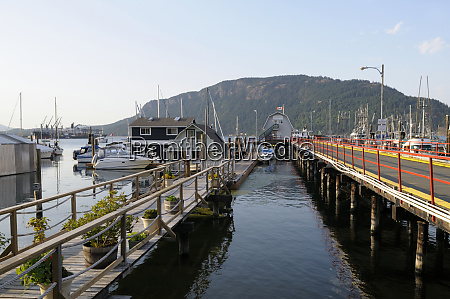 canada british columbia vancouver docks and