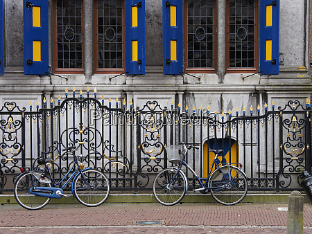 netherlands hoorn typical dutch architecture with
