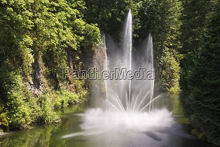 canada british columbia butchart gardens is