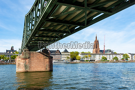 bridge accross the main river in