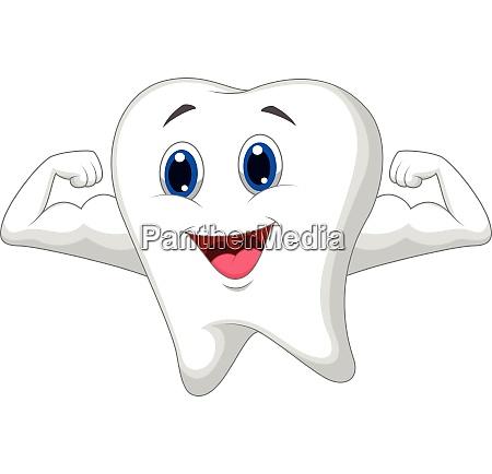 starker zahncharakter
