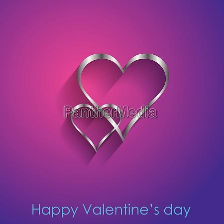 glücklicher, valentinstag., vektor-illustration. - 27952472