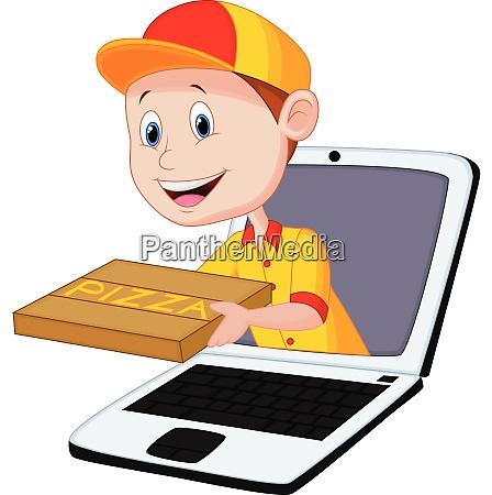 pizza lieferung online