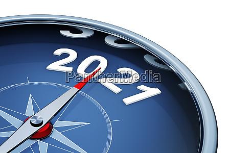 3d wiedergabe eines kompasses mit dem