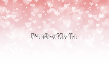 valentinstag abstrakte hintergrund mit herzen