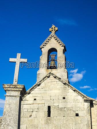 frankreich provence saint pantaleon kirche aus