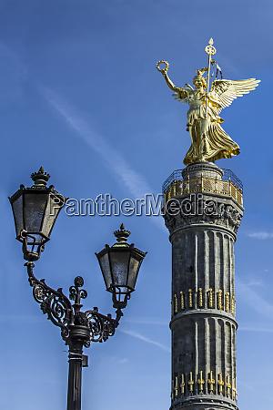 deutschland berlin mitte siegessaule denkmal auch