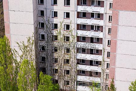 verlassenes gebaeude in tschernobyl
