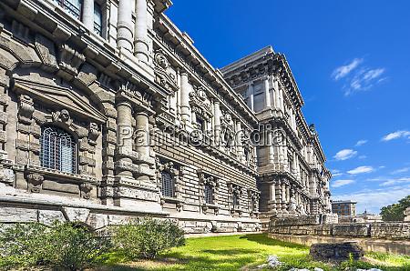 der italienische gerichtshof corte suprema di