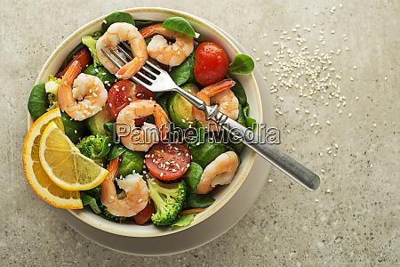 salatgarnelen