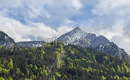 alpspitze, garmisch-partenkirchen, bayern, deutschland - 28001932