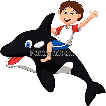 kinder und orca