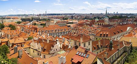 tschechische republik prag panorama der kleinen