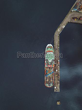 luftaufnahme, des, schiffes, in, newa, bei - 28025007