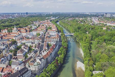 deutschland bayern muenchen panorama aufnahme von