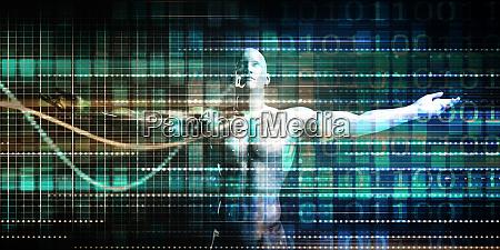 medizinwissenschaft futuristisch