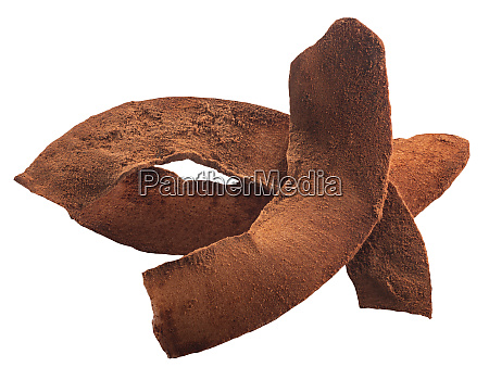 chocolated coated coconut chips paths