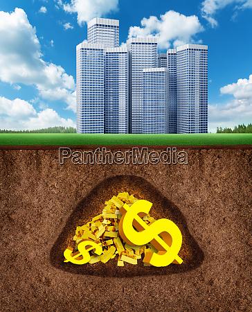 geld im untergrund