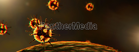 neues coronavirus 2019 ncov 3d medizinische