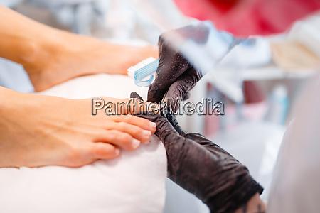 kosmetiksalon pedikuere sauberes verfahren