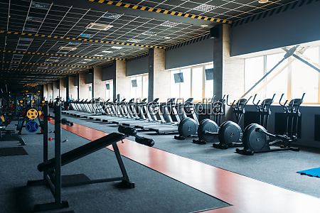 fitnessstudio nobody leerer fitnessclub