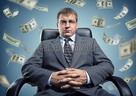 erwachsene allein boss braun business businessman