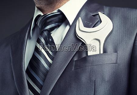 leistung big boss business businessman collar