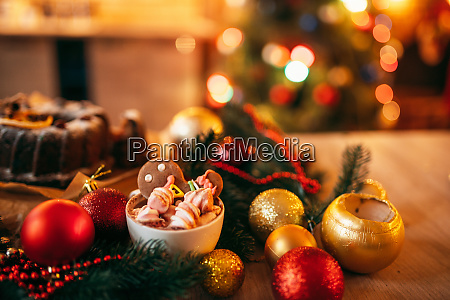 weihnachten lebkuchen mann urlaub dessert nahaufnahme