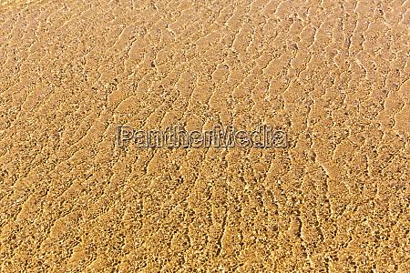 transparetn water and sand background