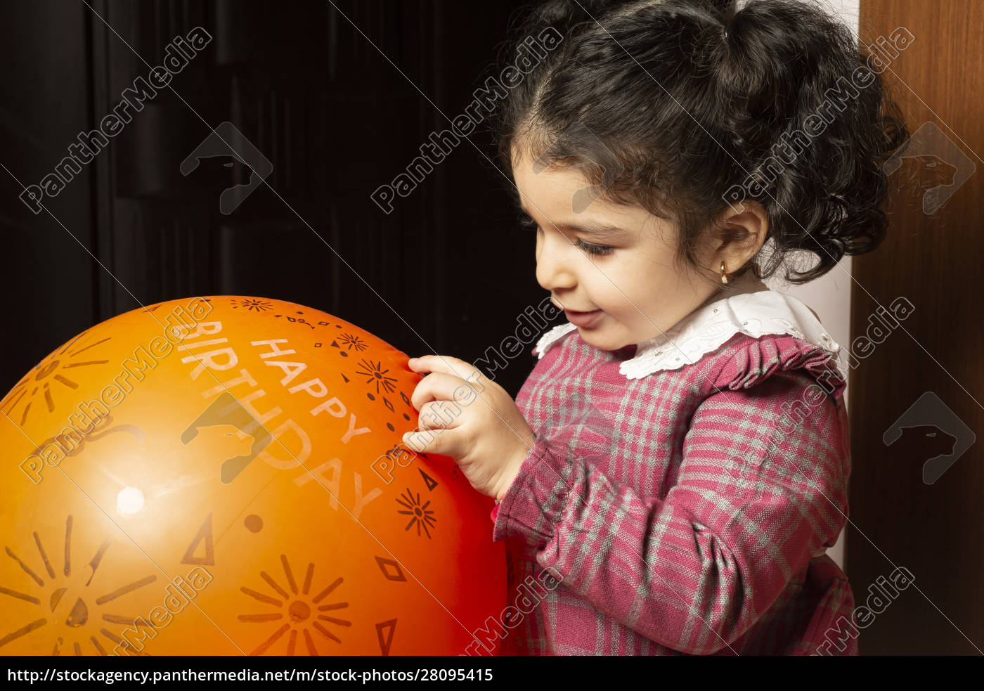 a, little, girl, child, is, playing - 28095415