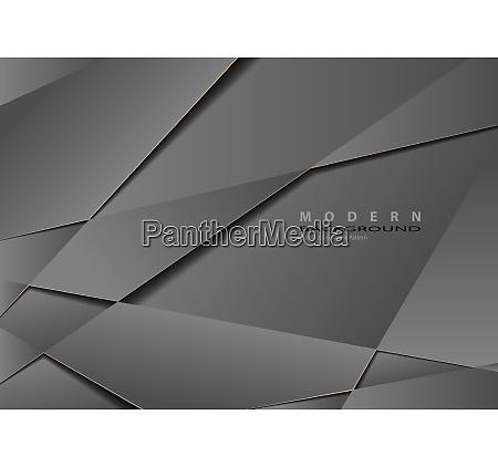 abstract gray metallic geometric background